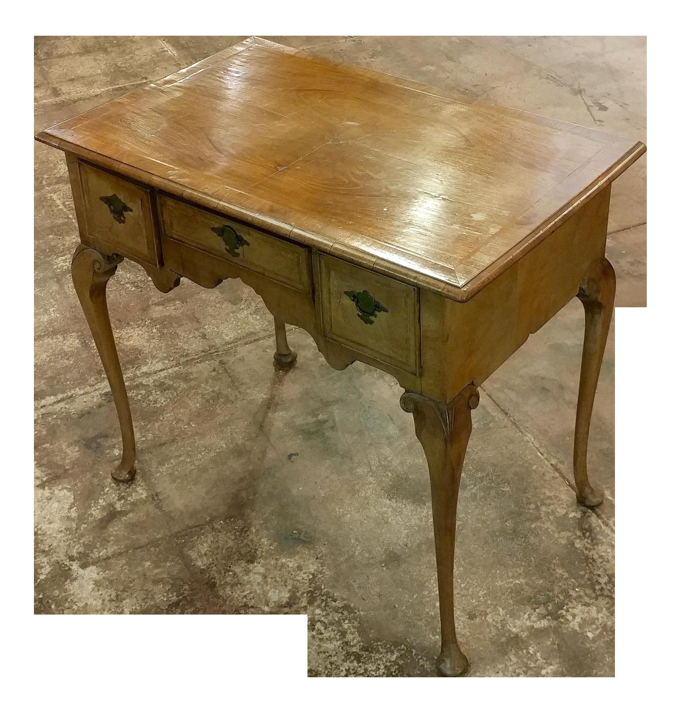 18th Century Queen Anne Desk