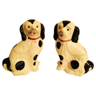 Ceramic Staffordshire Style Ceramic Dogs