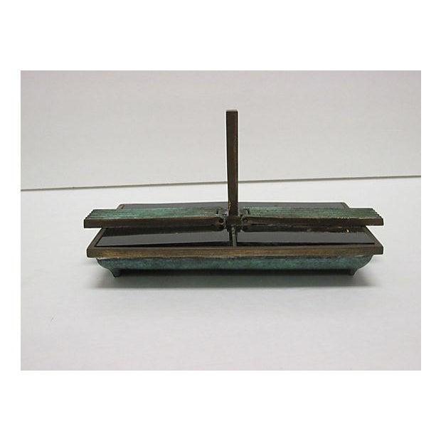 Art Deco Bronze Catchall - Image 4 of 8