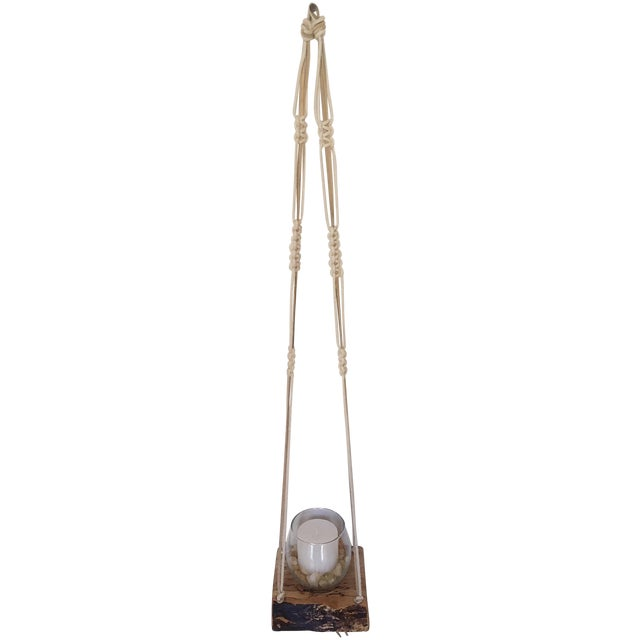 Wooden Macrame Hanger - Image 1 of 6