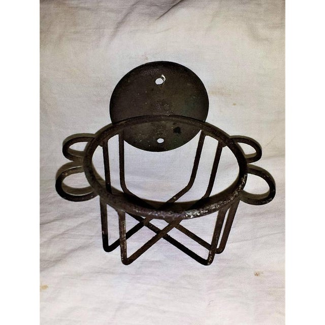 Antique Metal Wire Cup Holder - Image 2 of 5