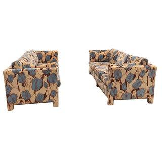 Vintage Velvet Sofa Set