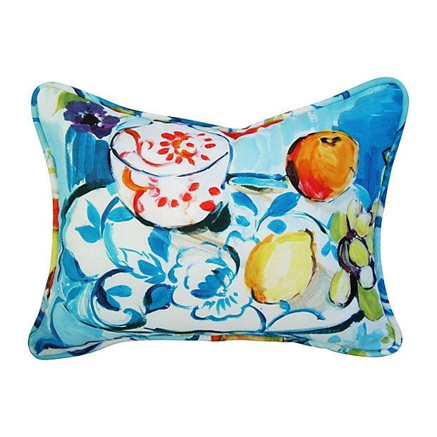 Designer Ronnie Gold Cezanne Style Pillows - Pair - Image 5 of 7