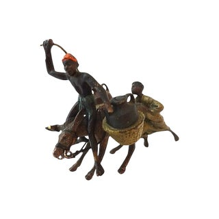 19th c Austrian Miniature Vienna Bronze Figures