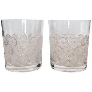 Lalique 'Napsbury' Cocktail Glasses - A Pair