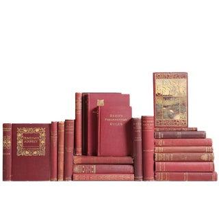 Gilded Claret Pocket-Sized Book Mix - Set of 20