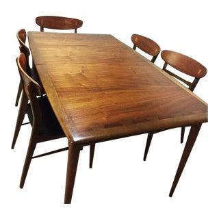 Lane Mid-Century Dining Set