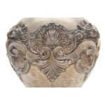 Image of Topazio 19th Century Silver Repousse Vase