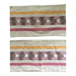 West Elm Ikat Pillow Covers - A Pair