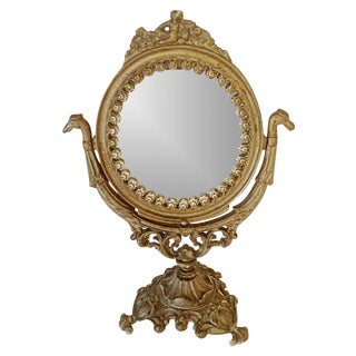 Victorian Table Swivel Mirror