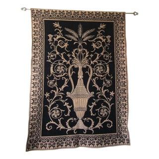 Beljen Mills Chenille French Urn Tapestry