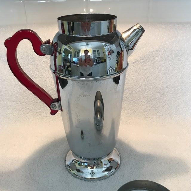 Vintage Chrome Cocktail Shaker - Image 7 of 10