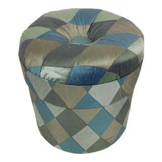 Silk Nonnie Wallers Puffed Hat Box