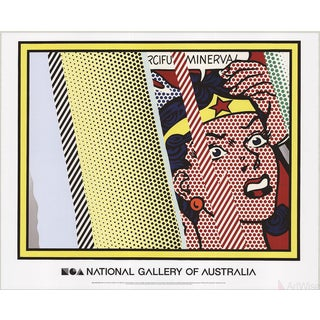 Roy Lichtenstein, Reflections on Minerva, 2013 Poster