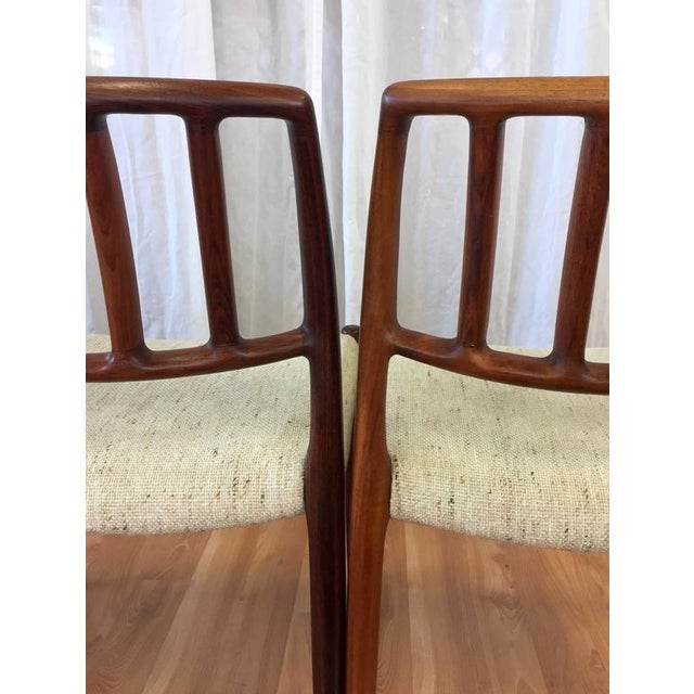 "Niels Møller ""Model 83"" Rosewood Dining Chairs - Set of 6 - Image 6 of 10"