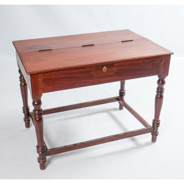 Vintage South Indian Writing Desk - Image 2 of 3