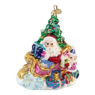 Christopher Radko Trim a Tree Ornament