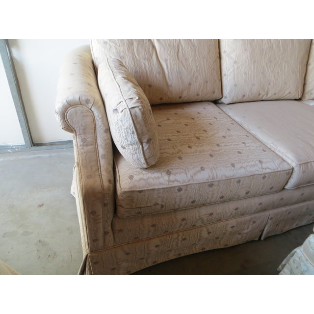 Vintage Lawson Style Fabric Sofa Couch Chairish