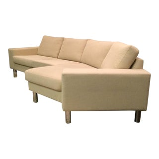 BoConcept Danish Modern Cream Sofa