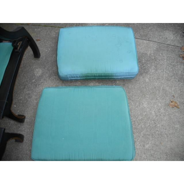 James Mont Style Asian Lounge Chairs - A Pair - Image 7 of 11