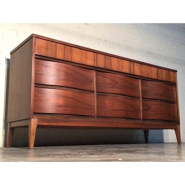 Mid-Century Modern Walnut Dresser - Image 11 of 11