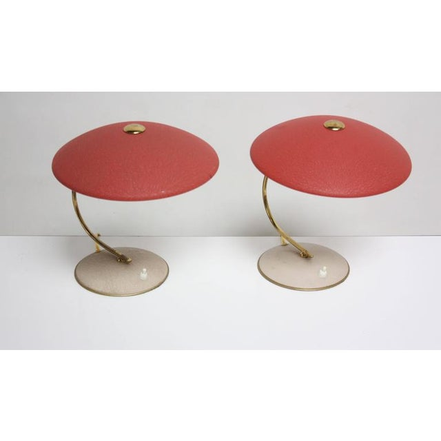Mid-Century Dutch Table Lamps - Image 2 of 11