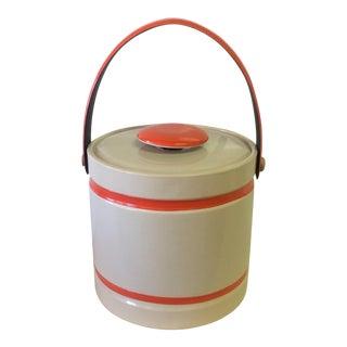 1970's Vinyl Ice Bucket