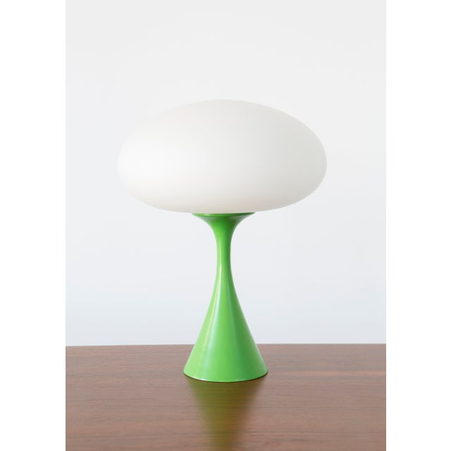 Rare Green Laurel Mushroom Lamp - Image 2 of 6