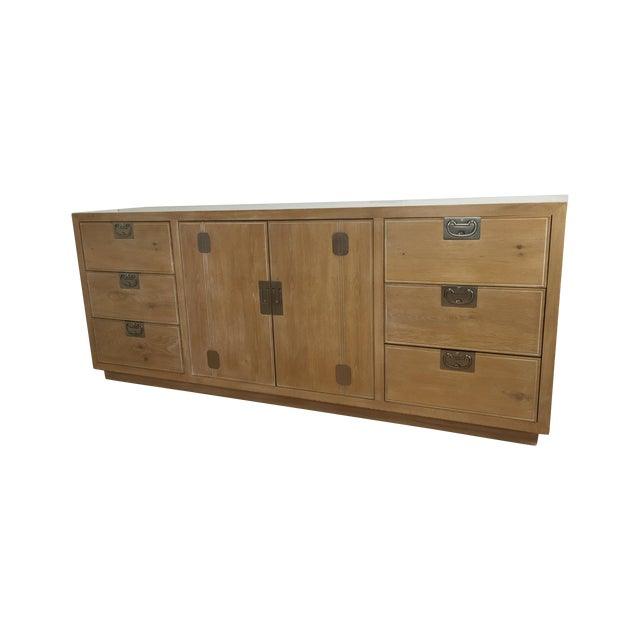 Washed Oak Henredon Dresser - Image 1 of 5