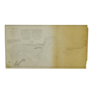 1850 Cat & Ship Island Harbors Nautical Chart