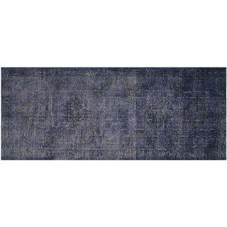 Vintage Turkish Overdyed Runner- 4′9″ × 13′