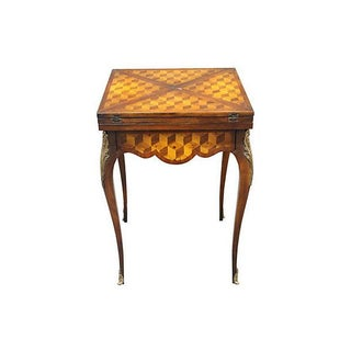 Antique Louis XV-Style Ormolu Chess Table