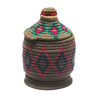 Gray Moroccan Bread Basket