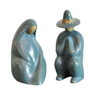 Jack Black Navajo Ceramic Sculptural Pair