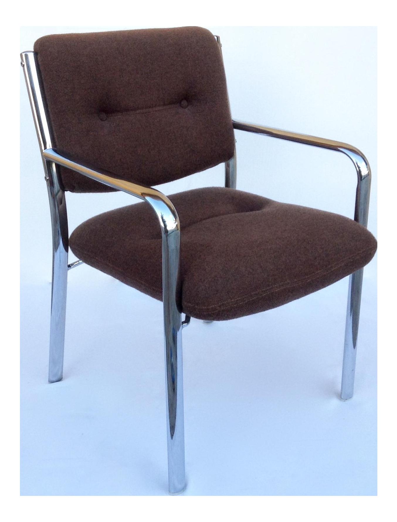 Mid Century ChromCraft Chrome Arm Chair