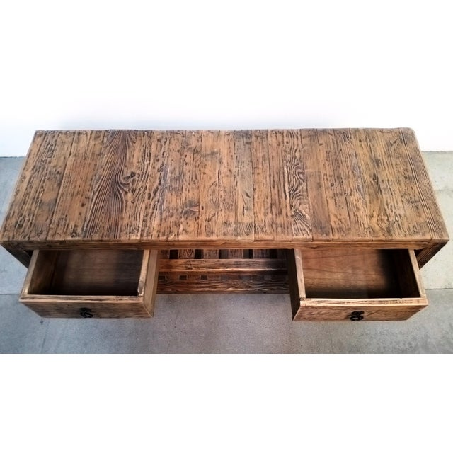 Image of Wooden Entertainment Center