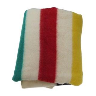 Hudson-Style Stripe Blanket