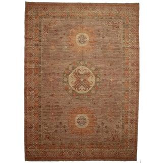 """RugsinDallas Pakistani Wool Natural Dyes Rug - 9'7"""" X 13'5"""""""