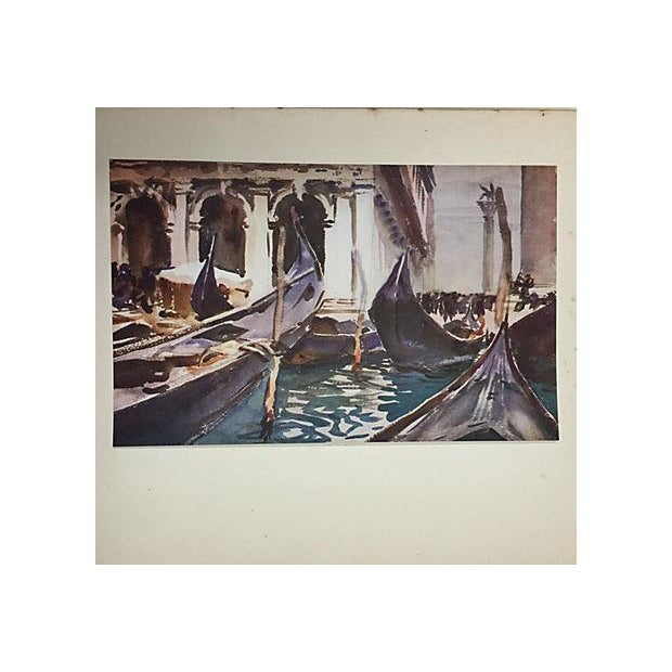 "Image of "" Famous Water Colour Painters"" 1930 Book by J. S. Sargent"
