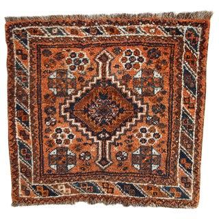 """1900 Antique Persian Shiraz Bag Face - 2'6"""" X 2'8"""""""