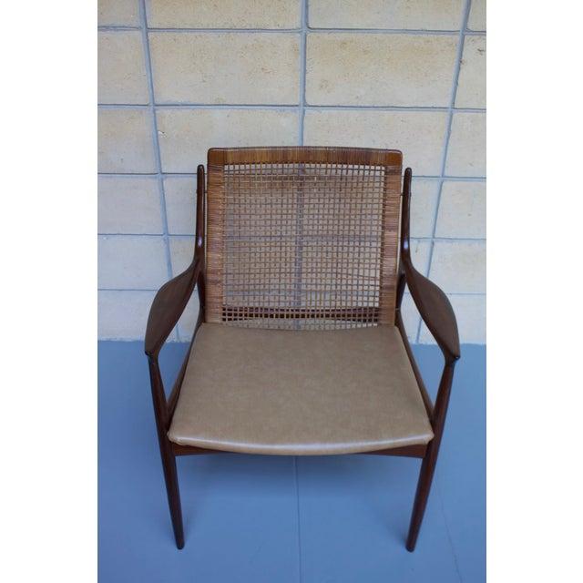 Kofod Larsen Cane Back Lounge Chair - Image 4 of 11