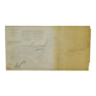 1850 Cat & Ship Island Harbors Nautical Chart