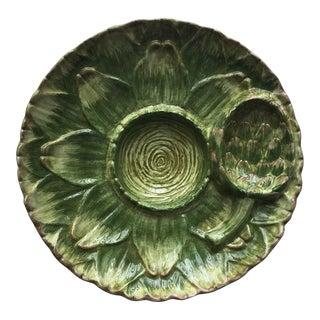 Vintage Italian Faience Artichoke Plate