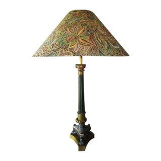 Regency Style column Lamp