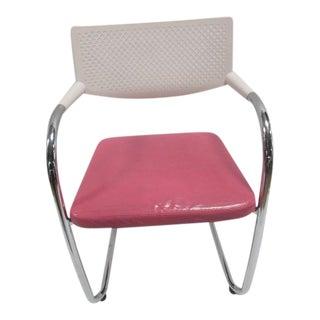 Vitra Visasoft Visavis 2 Chair White/Pink