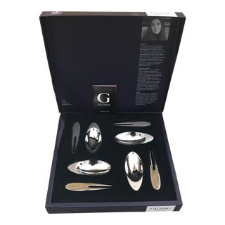 Gense Sparkling Stainless Appetise Appetizer Set in Box