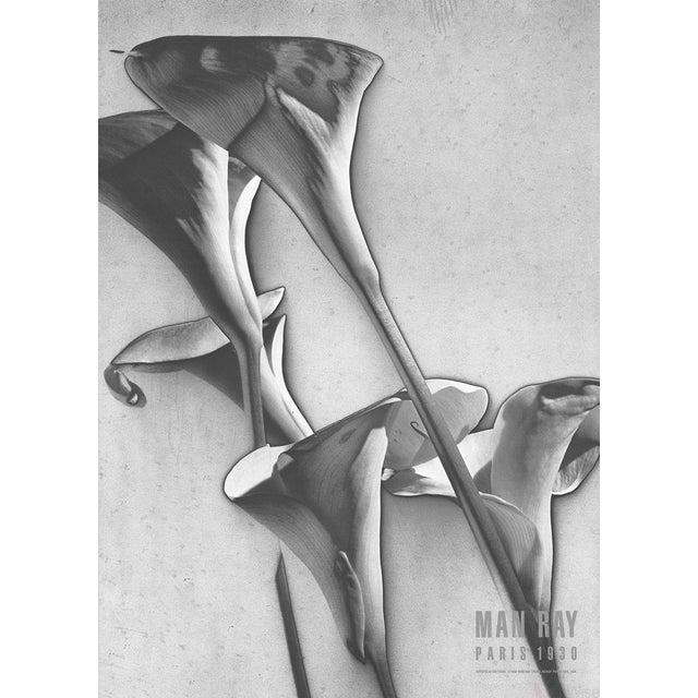 "Man Ray ""Cala Lilies"" 1988 Poster - Image 1 of 2"