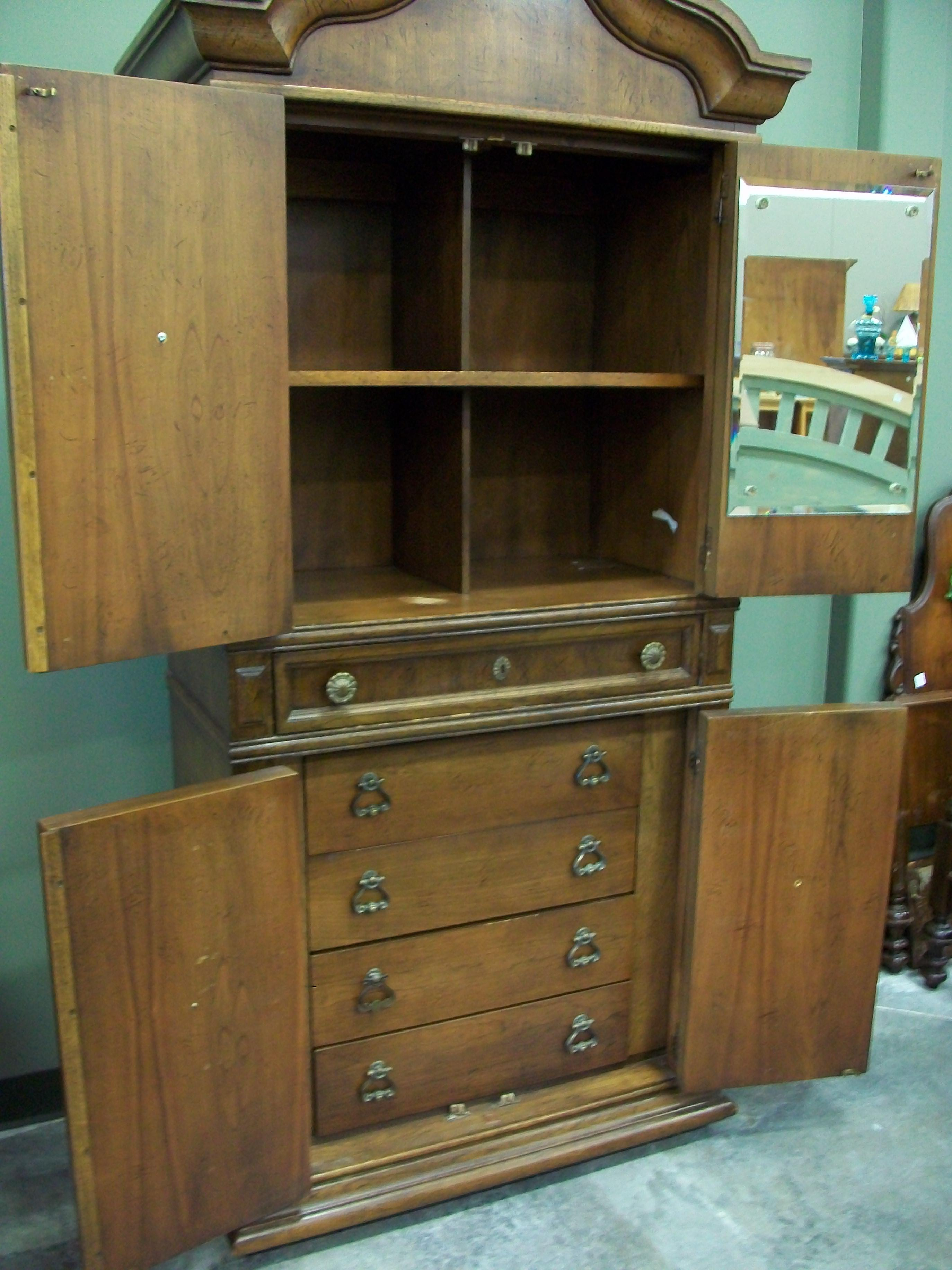 Vintage Armoire By American Of Martinsville Chairish