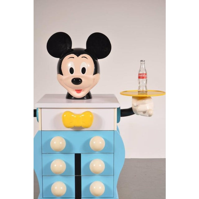 Mickey Mouse Cabinet by Pierre Colleu for Starform, France, circa 1980 - Image 8 of 9