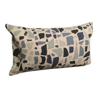 Lulu DK Blue Lumbar Pillow